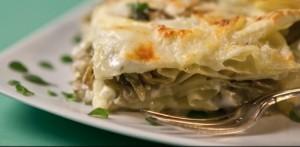 carciofi lasagne